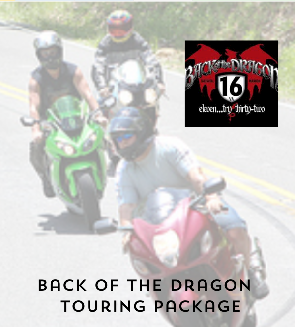 Back of The Dragon Package at Saint Paul Hotel, Virginia